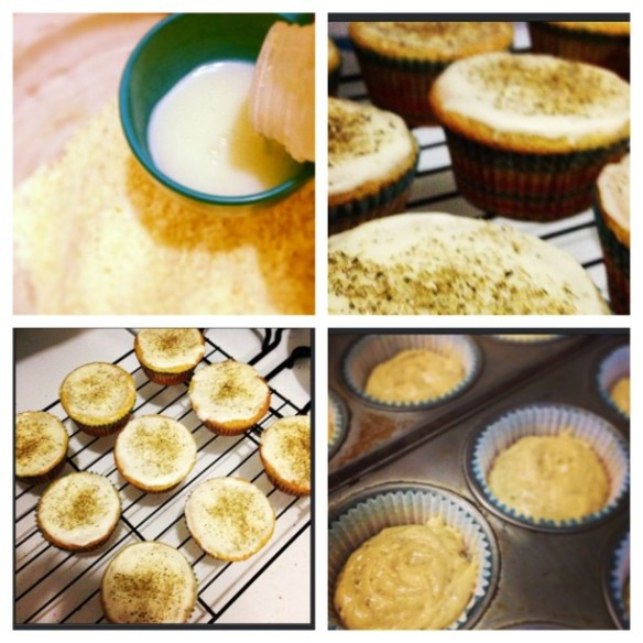Honey Chamomile Cupcakes | I Could Major in Cupcakes